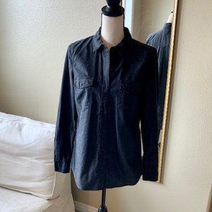 Old Navy Denim Button Down Shirt